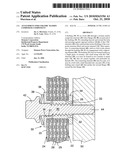 ATTACHMENT FOR CERAMIC MATRIX COMPOSITE COMPONENT diagram and image