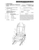FRAME STRUCTURE OF SEAT CUSHION FOR VEHICLE SEAT diagram and image