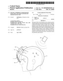 Helmet Comprising Visor Position Detection and Associated Helmet Position Detection diagram and image