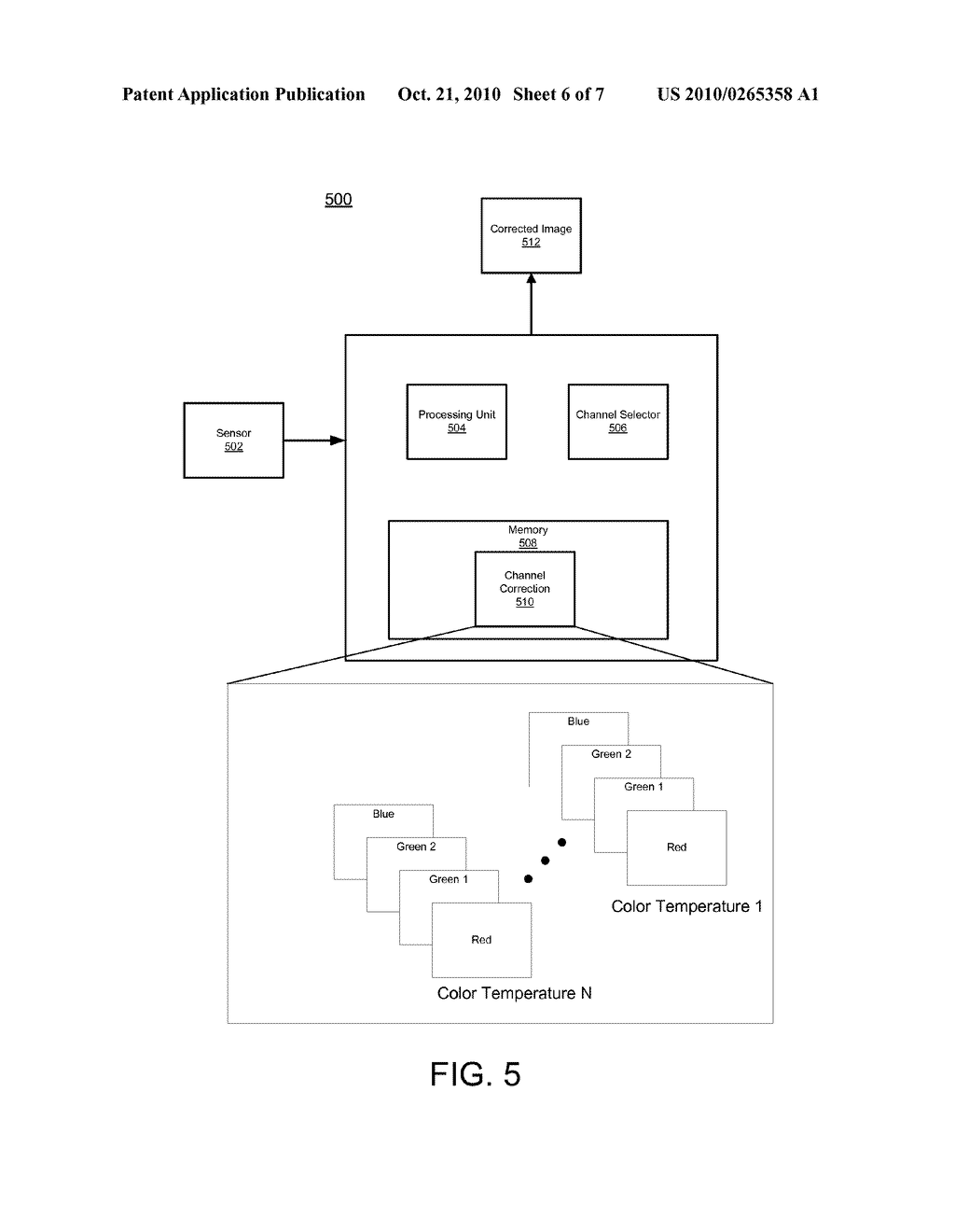 SYSTEM AND METHOD FOR IMAGE CORRECTION - diagram, schematic, and image 07