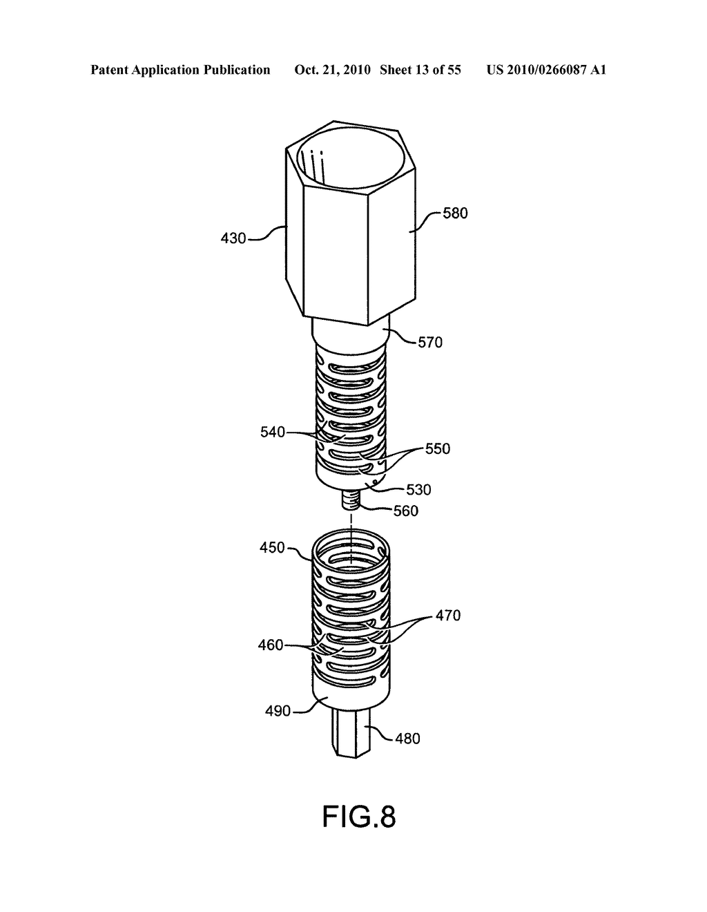 Nuclear fission reactor, flow control assembly, methods therefor and a flow control assembly system - diagram, schematic, and image 14