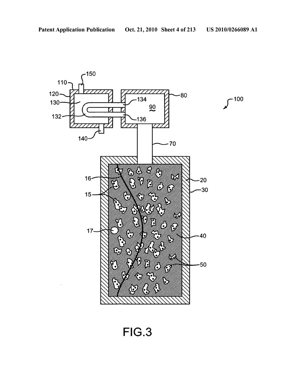 Nuclear fission reactor fuel assembly and system configured for controlled removal of a volatile fission product and heat released by a burn wave in a traveling wave nuclear fission reactor and method for same - diagram, schematic, and image 05