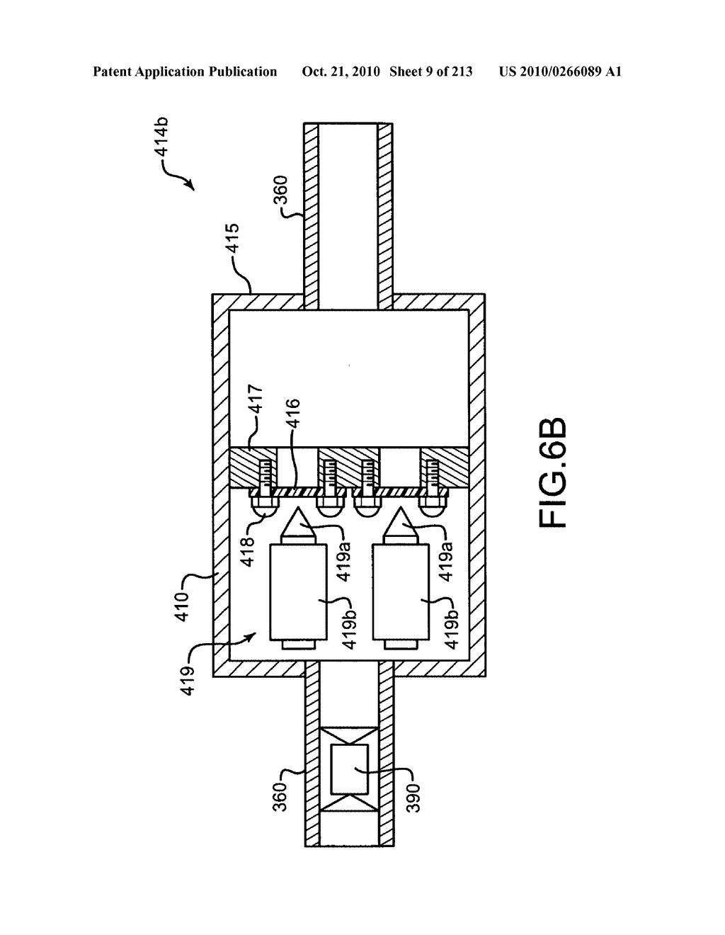 Nuclear fission reactor fuel assembly and system configured for controlled removal of a volatile fission product and heat released by a burn wave in a traveling wave nuclear fission reactor and method for same - diagram, schematic, and image 10