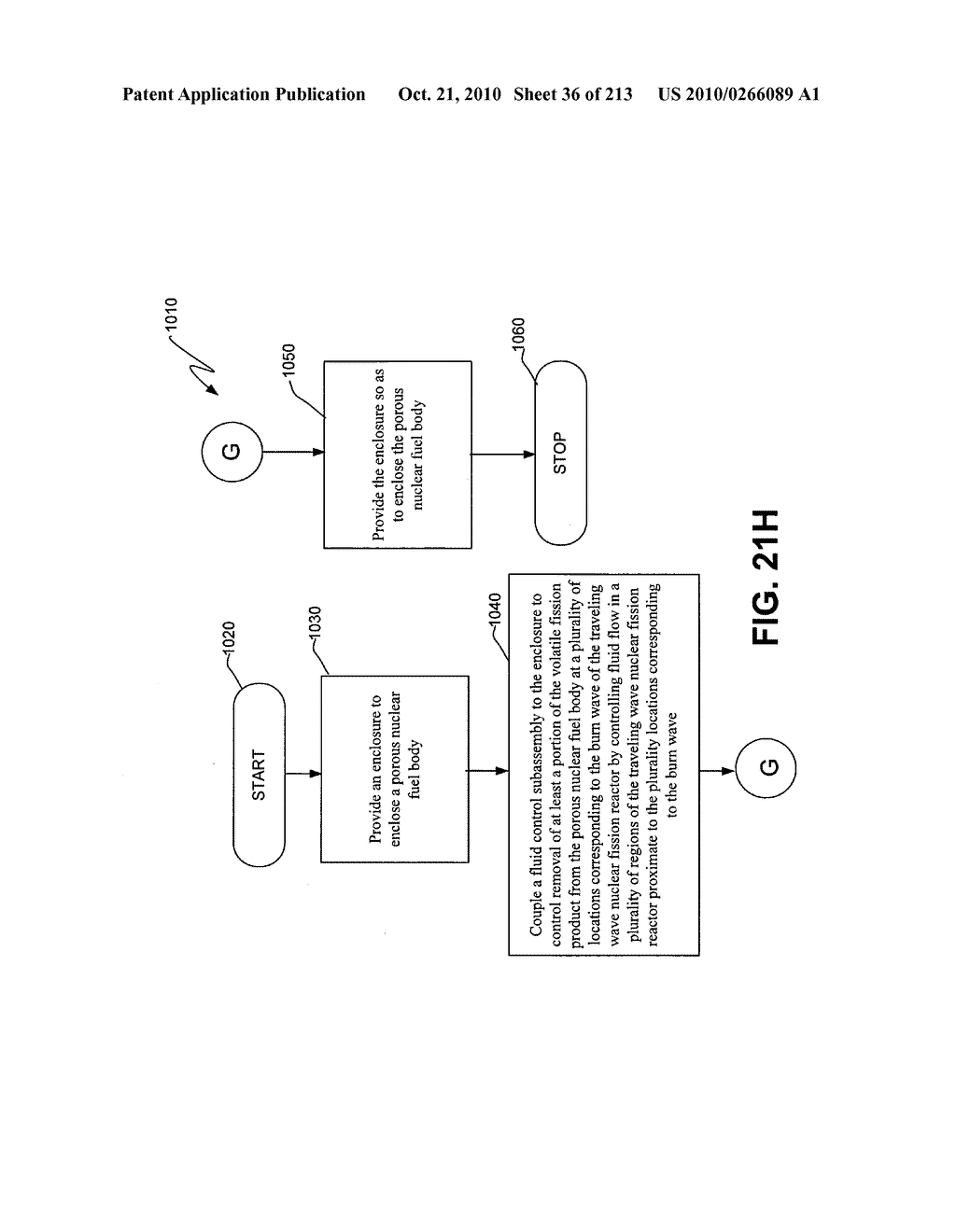 Nuclear fission reactor fuel assembly and system configured for controlled removal of a volatile fission product and heat released by a burn wave in a traveling wave nuclear fission reactor and method for same - diagram, schematic, and image 37