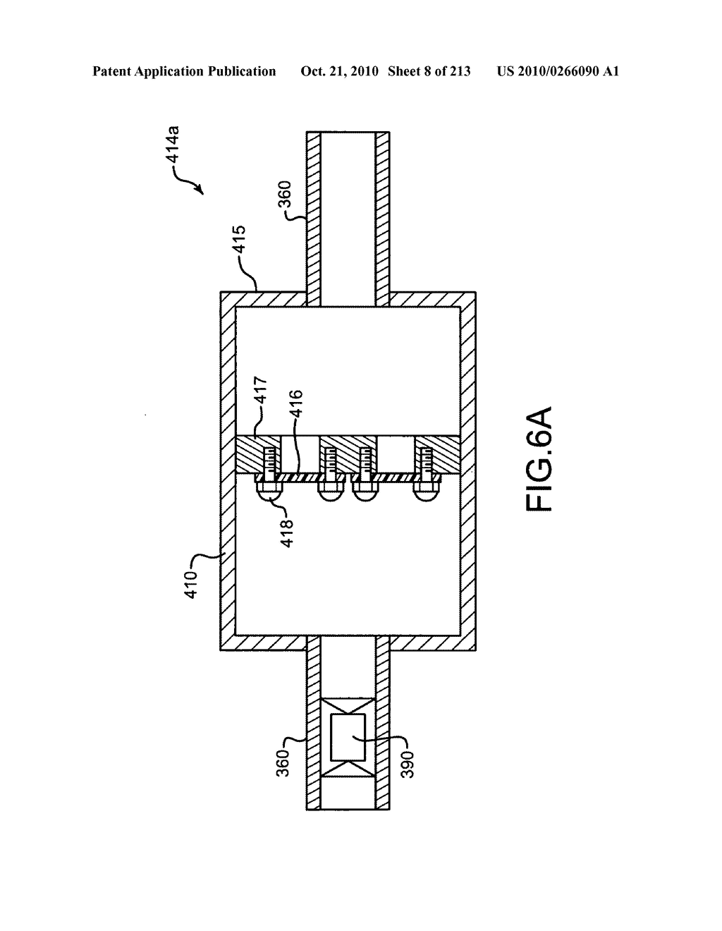 Nuclear fission reactor fuel assembly and system configured for controlled removal of a volatile fission product and heat released by a burn wave in a traveling wave nuclear fission reactor and method for same - diagram, schematic, and image 09