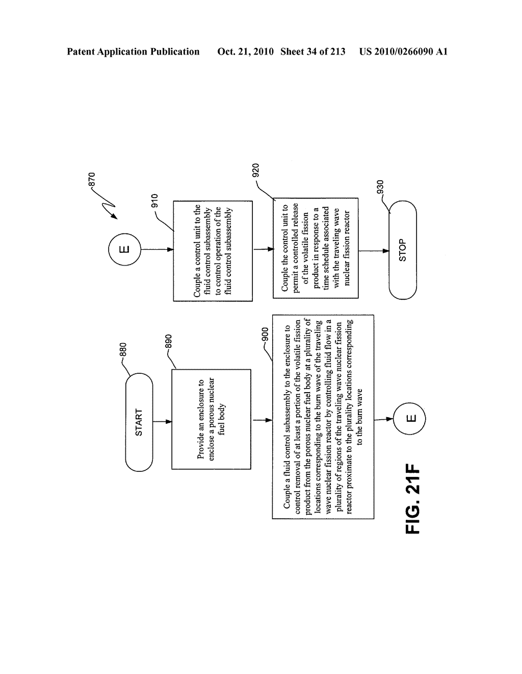 Nuclear fission reactor fuel assembly and system configured for controlled removal of a volatile fission product and heat released by a burn wave in a traveling wave nuclear fission reactor and method for same - diagram, schematic, and image 35