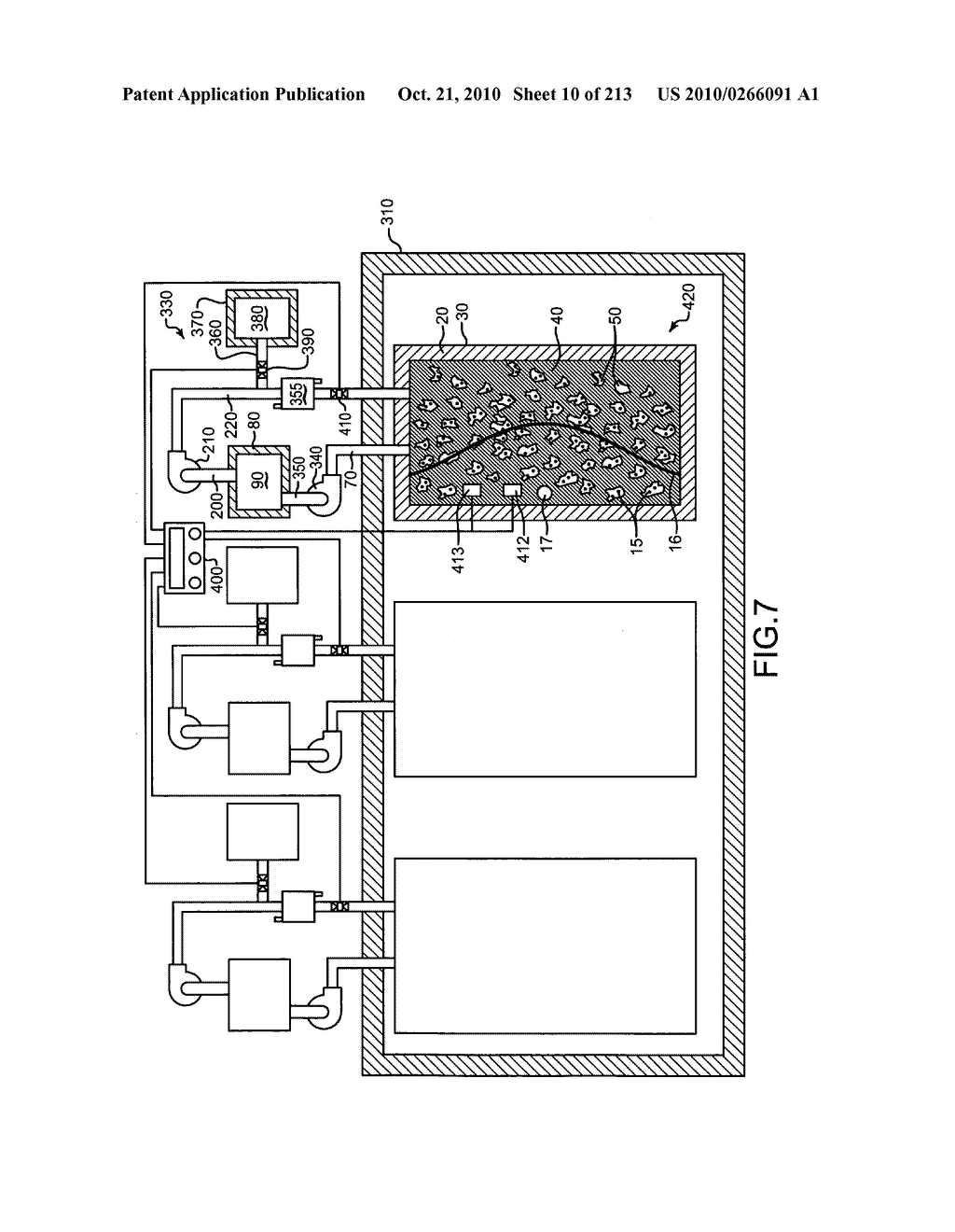 Nuclear fission reactor fuel assembly and system configured for controlled removal of a volatile fission product and heat released by a burn wave in a traveling wave nuclear fission reactor and method for same - diagram, schematic, and image 11