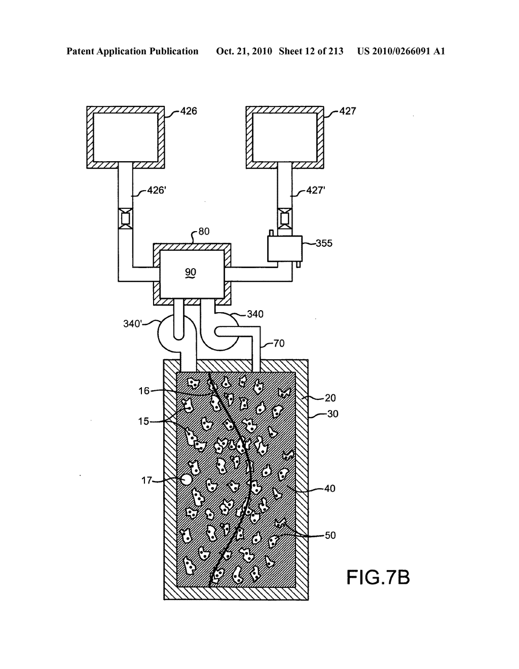 Nuclear fission reactor fuel assembly and system configured for controlled removal of a volatile fission product and heat released by a burn wave in a traveling wave nuclear fission reactor and method for same - diagram, schematic, and image 13