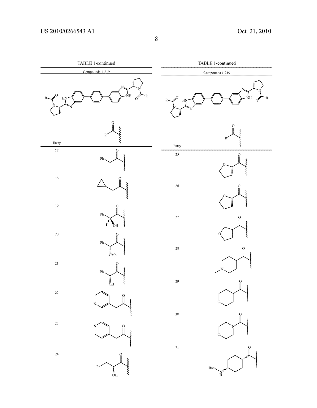 LINKED DIBENZIMIDAZOLE ANTIVIRALS - diagram, schematic, and image 09