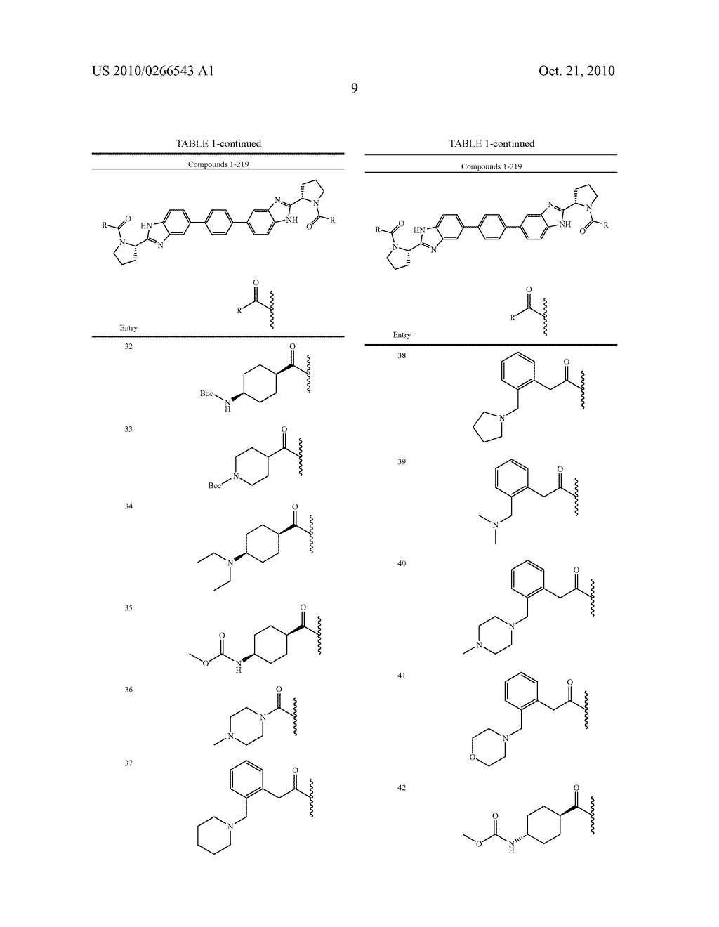 LINKED DIBENZIMIDAZOLE ANTIVIRALS - diagram, schematic, and image 10