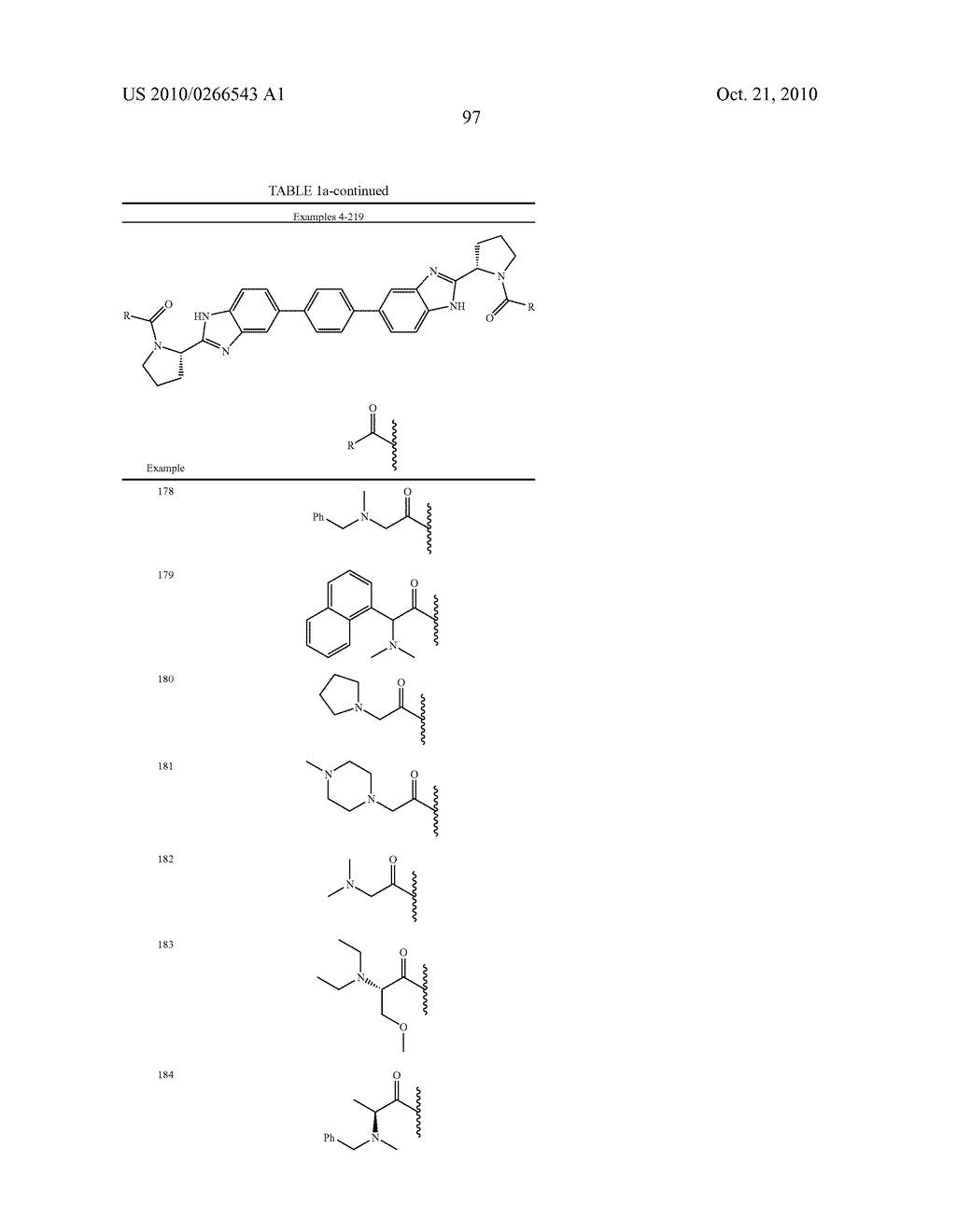 LINKED DIBENZIMIDAZOLE ANTIVIRALS - diagram, schematic, and image 100