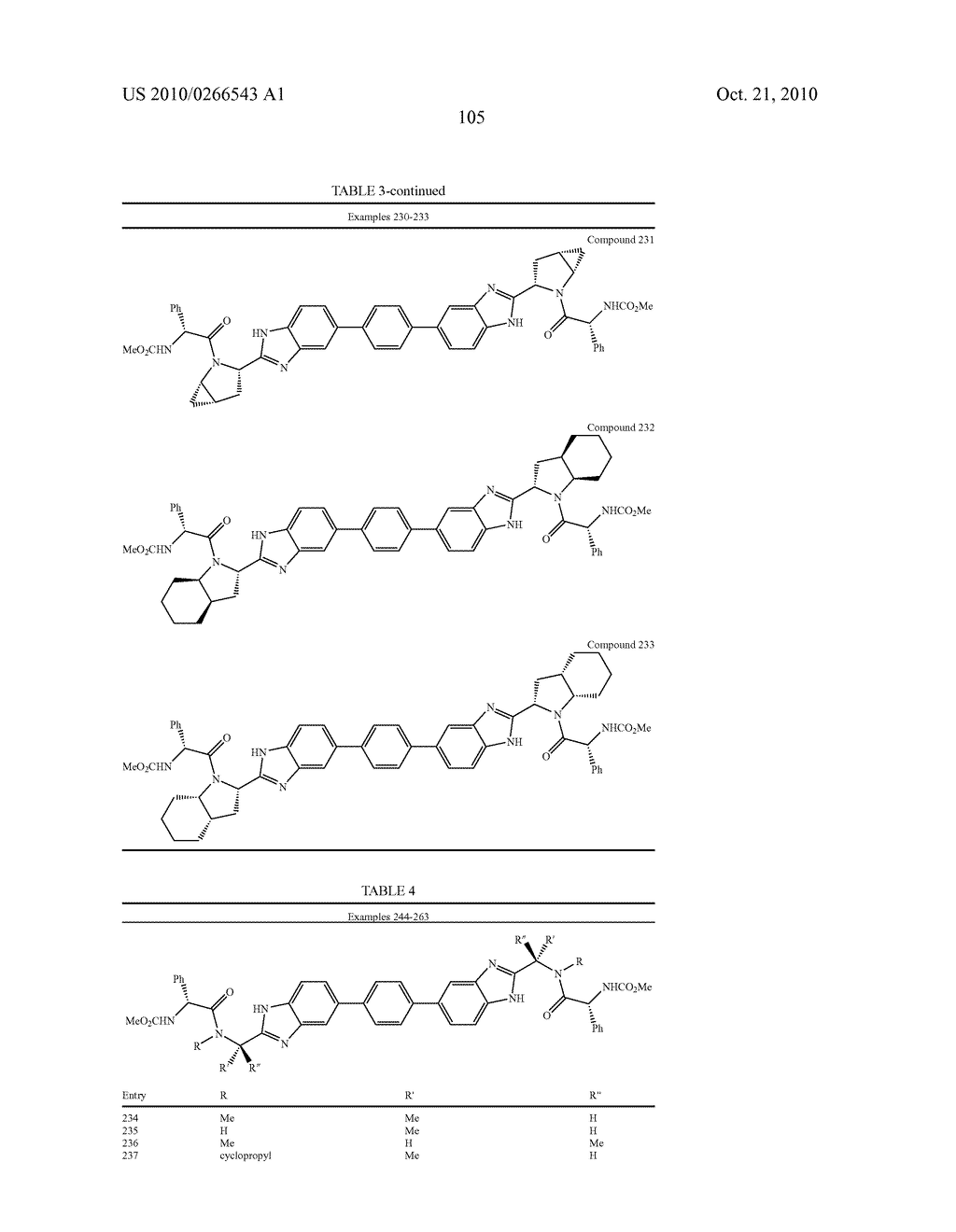 LINKED DIBENZIMIDAZOLE ANTIVIRALS - diagram, schematic, and image 108