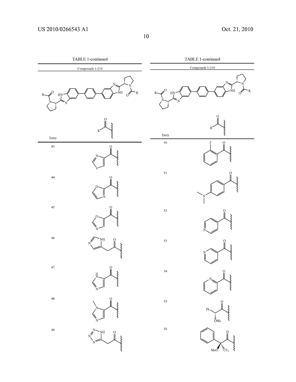 LINKED DIBENZIMIDAZOLE ANTIVIRALS - diagram, schematic, and image 11