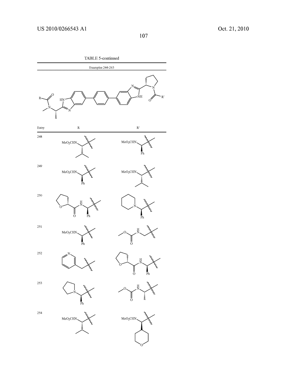 LINKED DIBENZIMIDAZOLE ANTIVIRALS - diagram, schematic, and image 110