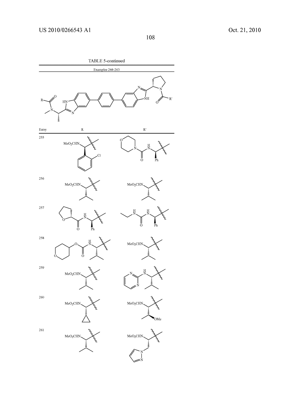 LINKED DIBENZIMIDAZOLE ANTIVIRALS - diagram, schematic, and image 111