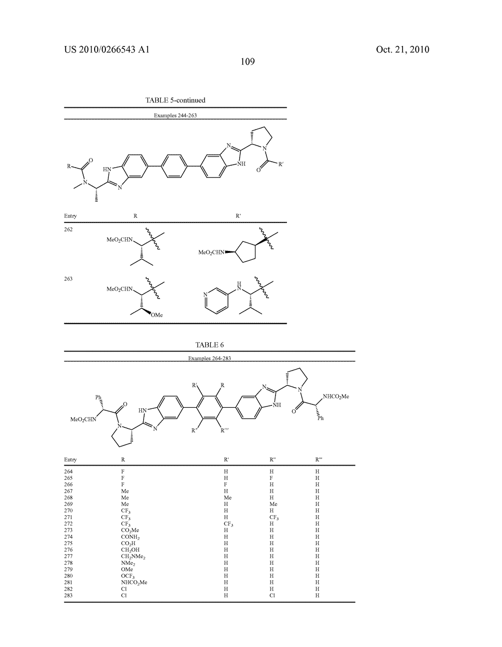 LINKED DIBENZIMIDAZOLE ANTIVIRALS - diagram, schematic, and image 112