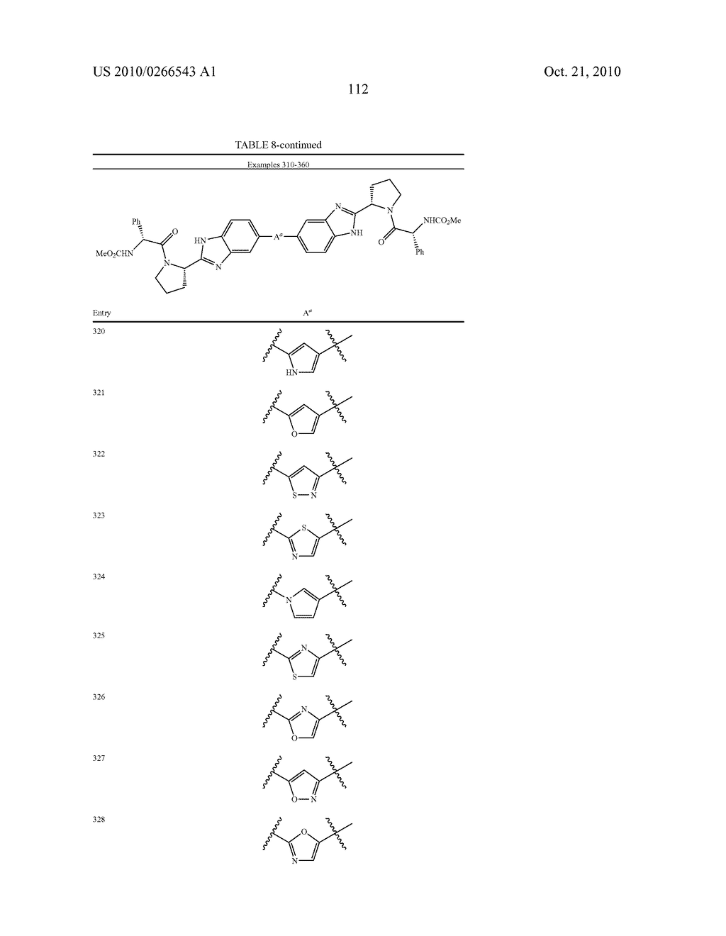 LINKED DIBENZIMIDAZOLE ANTIVIRALS - diagram, schematic, and image 115