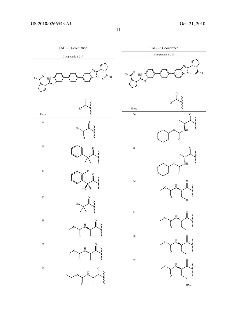 LINKED DIBENZIMIDAZOLE ANTIVIRALS - diagram, schematic, and image 12