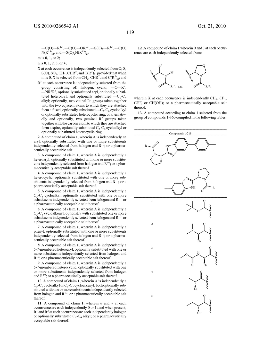 LINKED DIBENZIMIDAZOLE ANTIVIRALS - diagram, schematic, and image 122