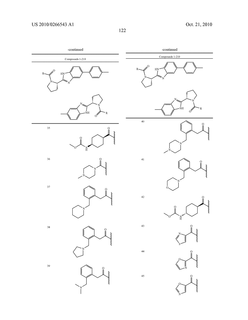 LINKED DIBENZIMIDAZOLE ANTIVIRALS - diagram, schematic, and image 125
