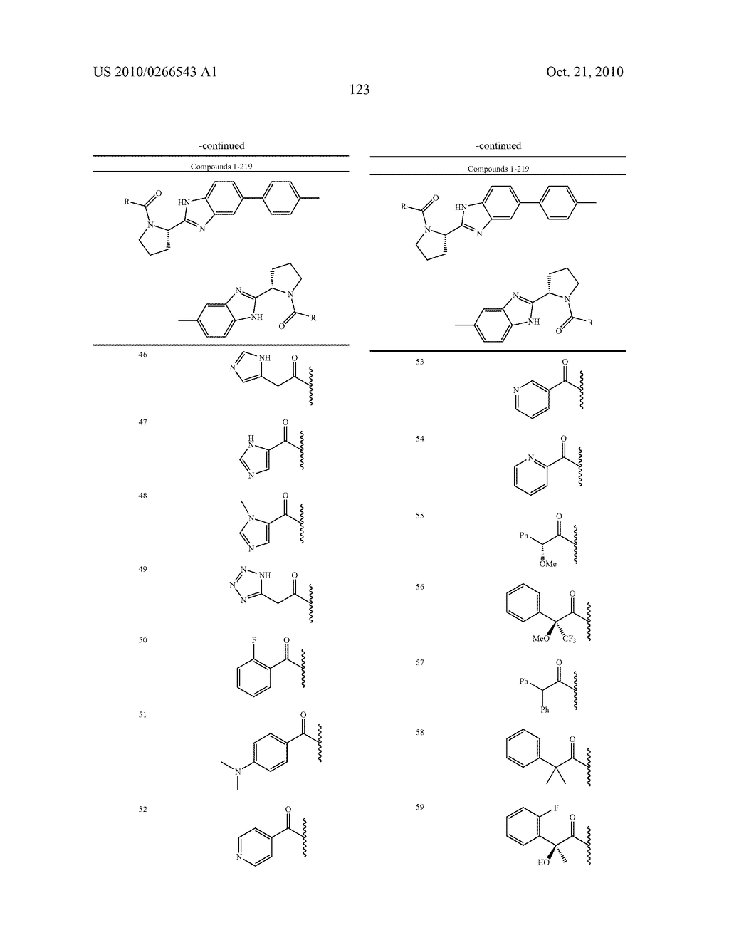 LINKED DIBENZIMIDAZOLE ANTIVIRALS - diagram, schematic, and image 126
