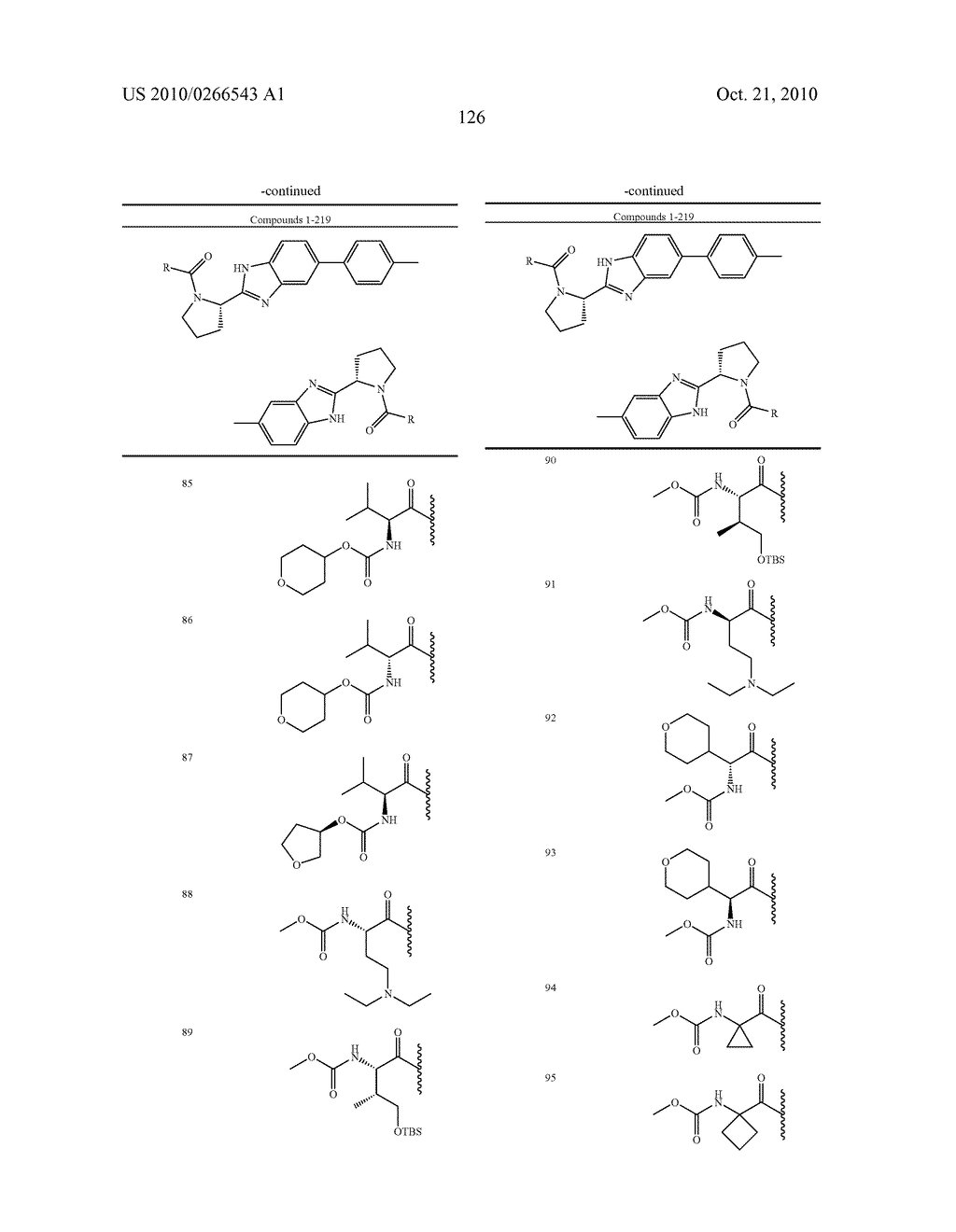 LINKED DIBENZIMIDAZOLE ANTIVIRALS - diagram, schematic, and image 129