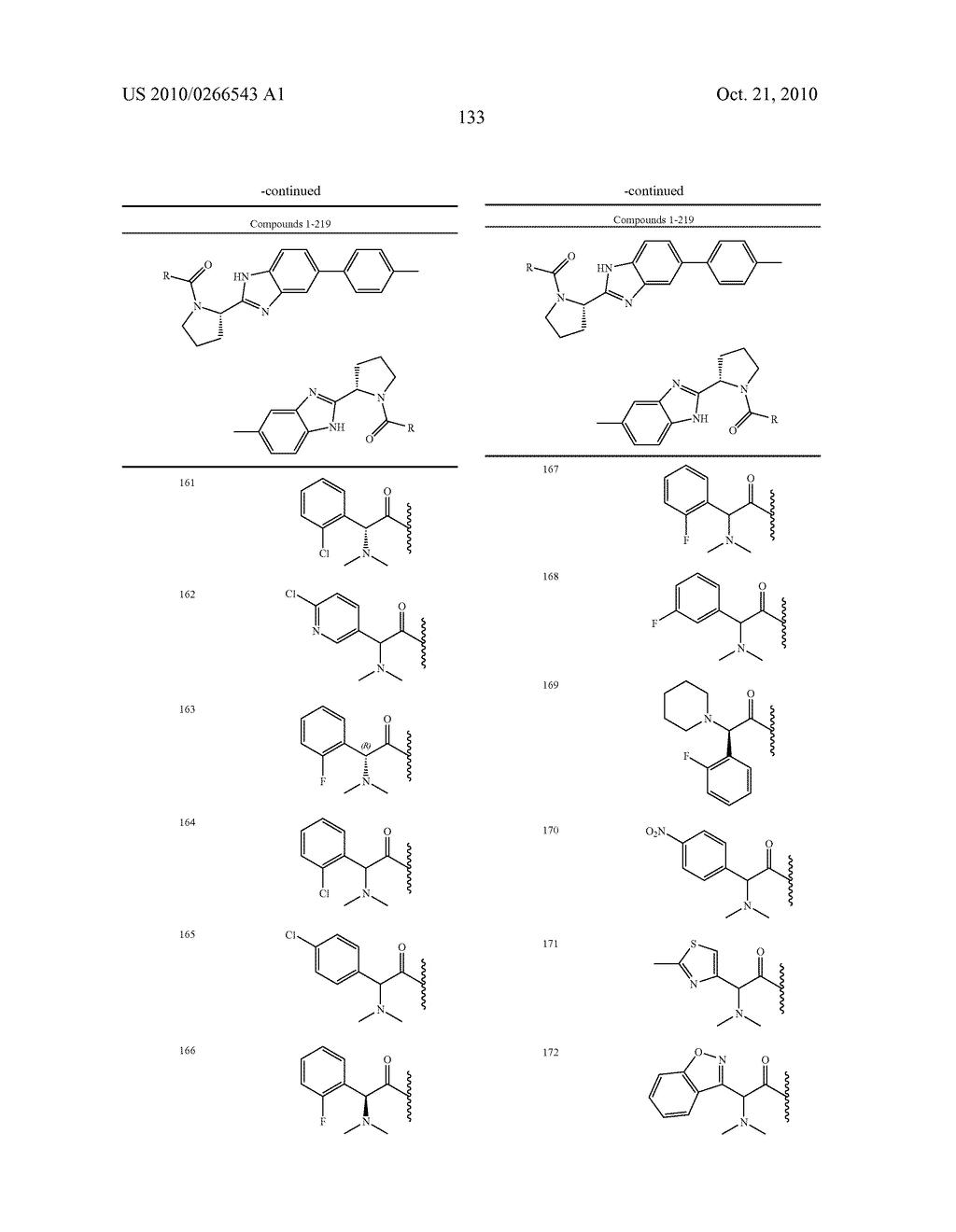 LINKED DIBENZIMIDAZOLE ANTIVIRALS - diagram, schematic, and image 136