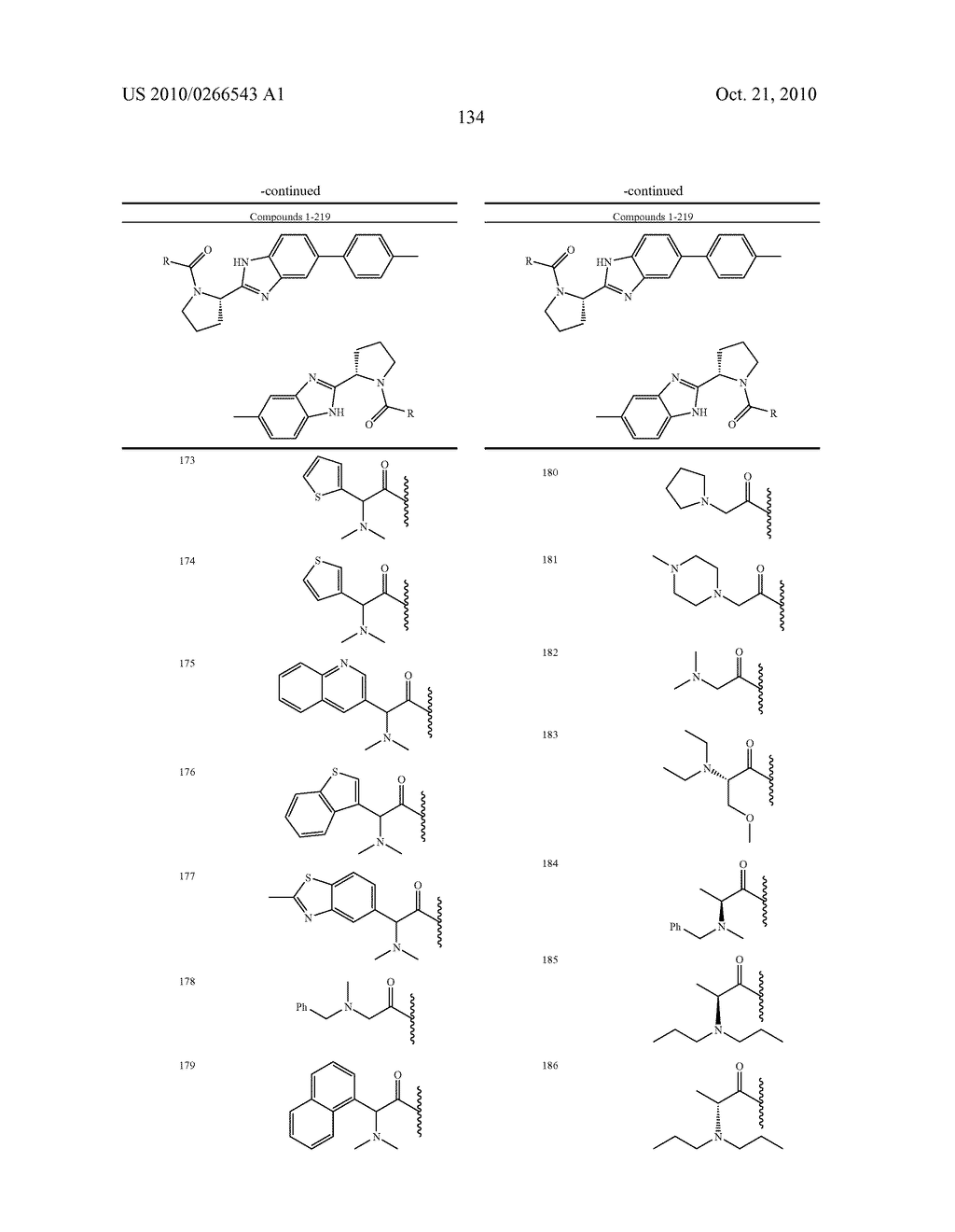 LINKED DIBENZIMIDAZOLE ANTIVIRALS - diagram, schematic, and image 137