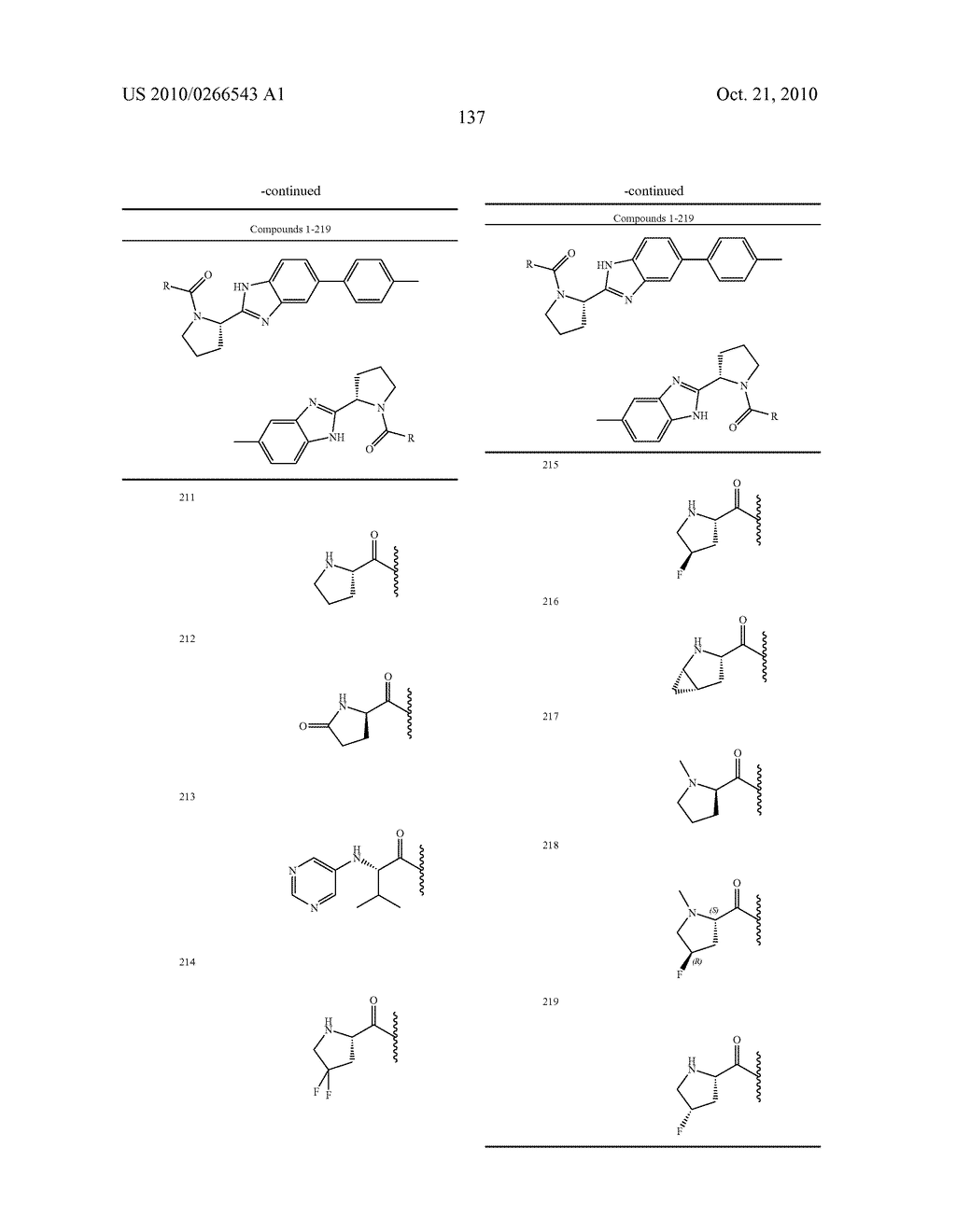 LINKED DIBENZIMIDAZOLE ANTIVIRALS - diagram, schematic, and image 140