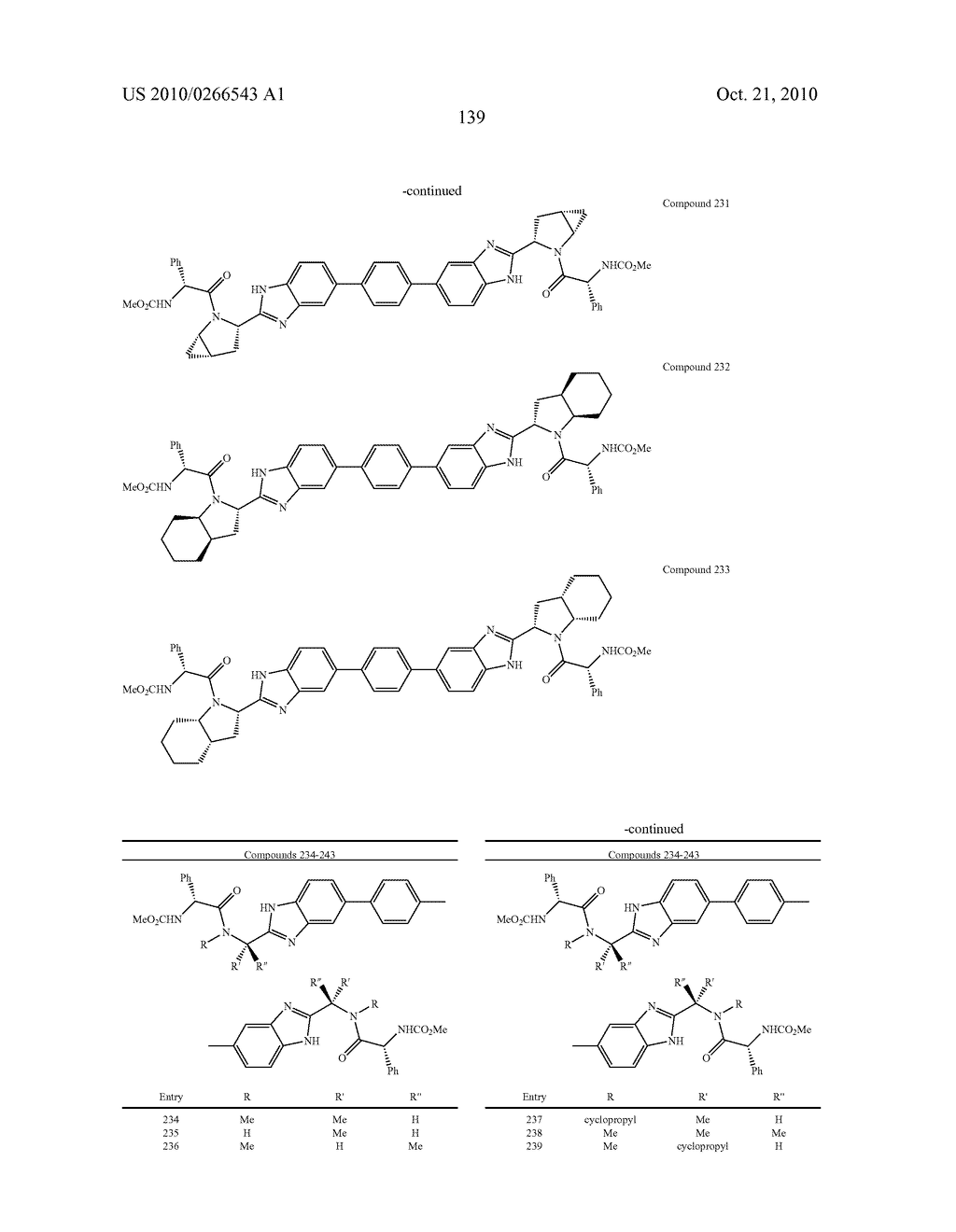 LINKED DIBENZIMIDAZOLE ANTIVIRALS - diagram, schematic, and image 142