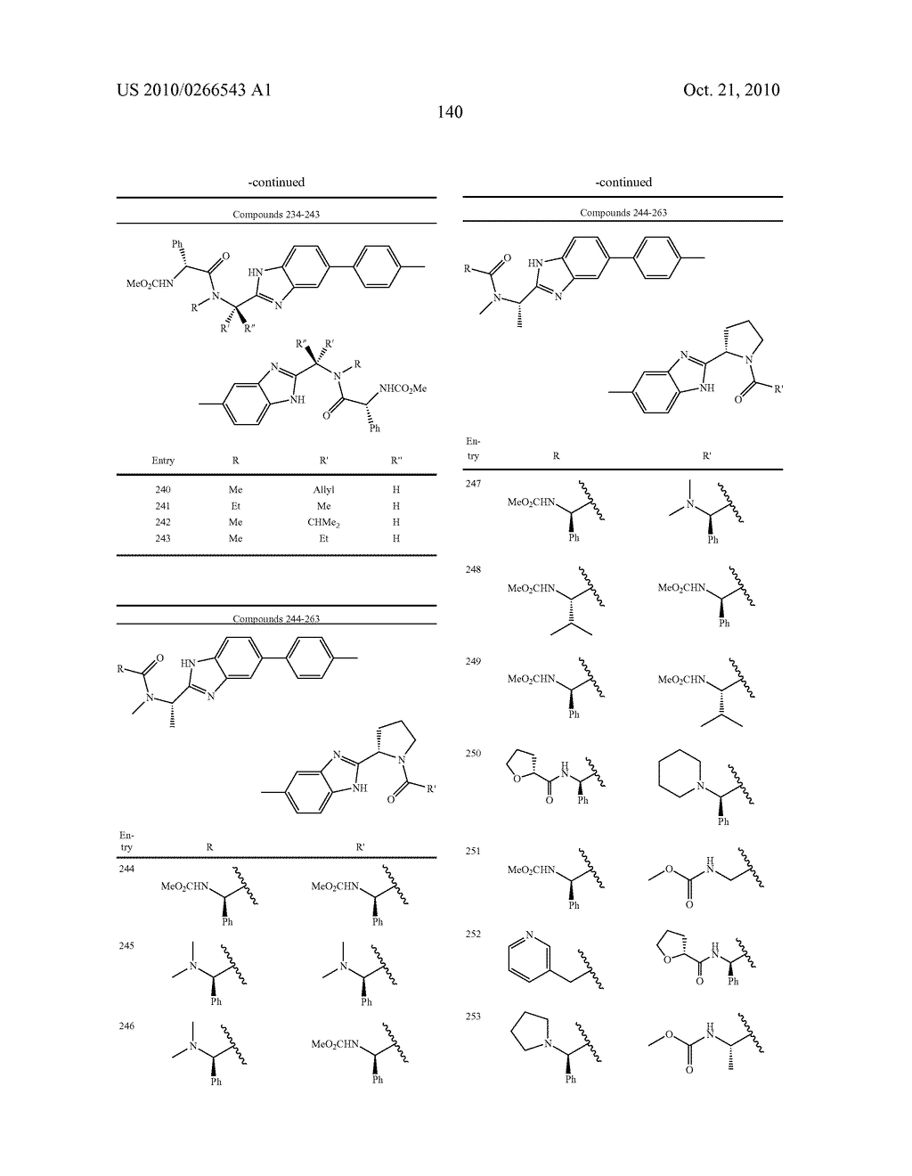 LINKED DIBENZIMIDAZOLE ANTIVIRALS - diagram, schematic, and image 143