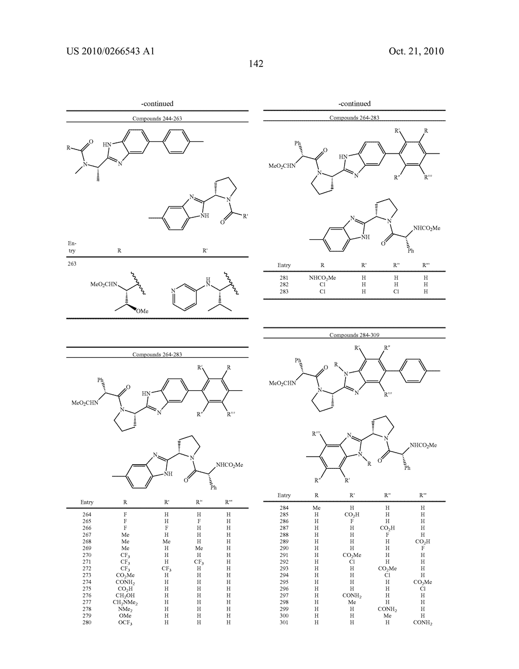 LINKED DIBENZIMIDAZOLE ANTIVIRALS - diagram, schematic, and image 145