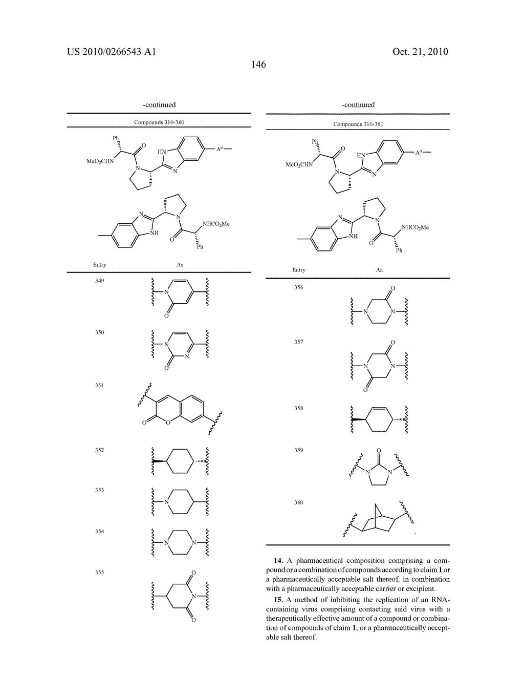 LINKED DIBENZIMIDAZOLE ANTIVIRALS - diagram, schematic, and image 149