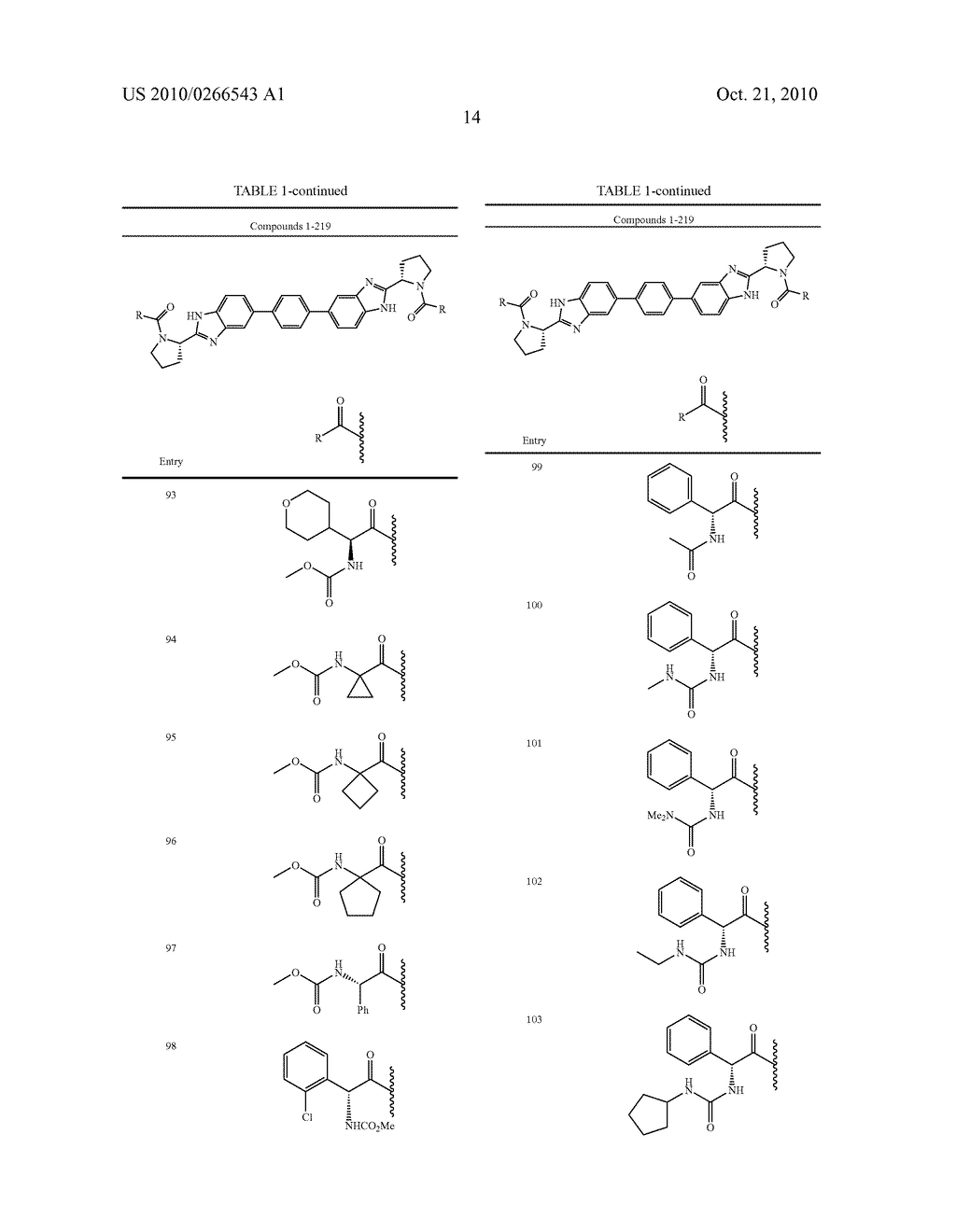 LINKED DIBENZIMIDAZOLE ANTIVIRALS - diagram, schematic, and image 15