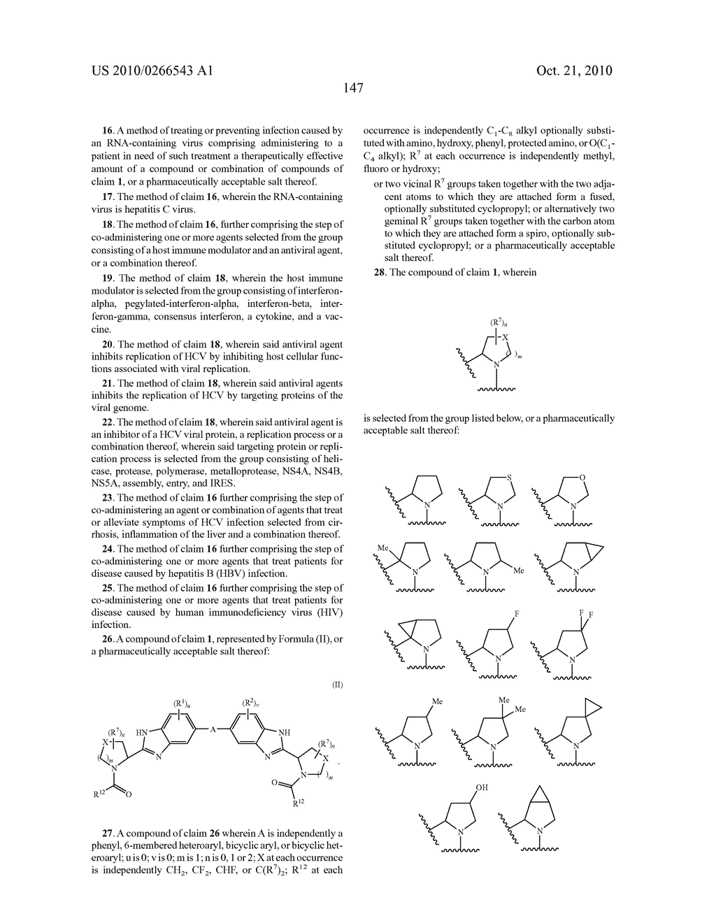 LINKED DIBENZIMIDAZOLE ANTIVIRALS - diagram, schematic, and image 150