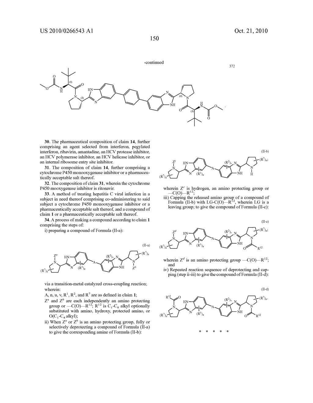 LINKED DIBENZIMIDAZOLE ANTIVIRALS - diagram, schematic, and image 153