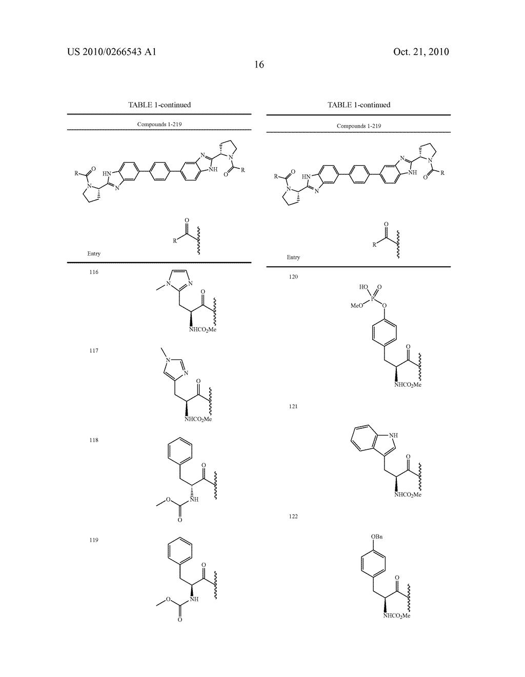 LINKED DIBENZIMIDAZOLE ANTIVIRALS - diagram, schematic, and image 17