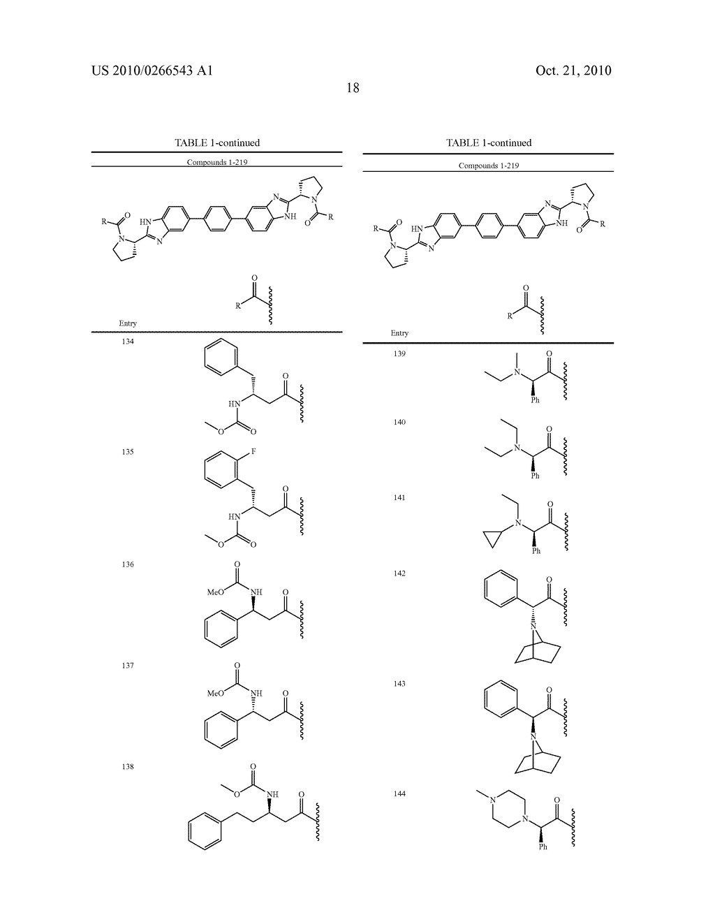 LINKED DIBENZIMIDAZOLE ANTIVIRALS - diagram, schematic, and image 19