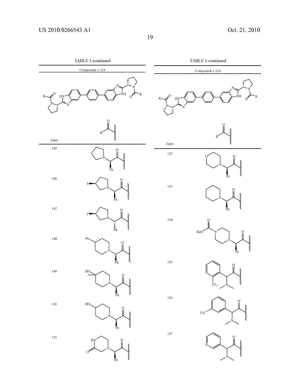 LINKED DIBENZIMIDAZOLE ANTIVIRALS - diagram, schematic, and image 20