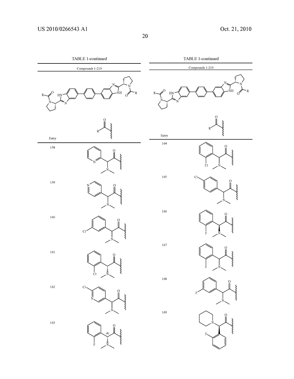 LINKED DIBENZIMIDAZOLE ANTIVIRALS - diagram, schematic, and image 21