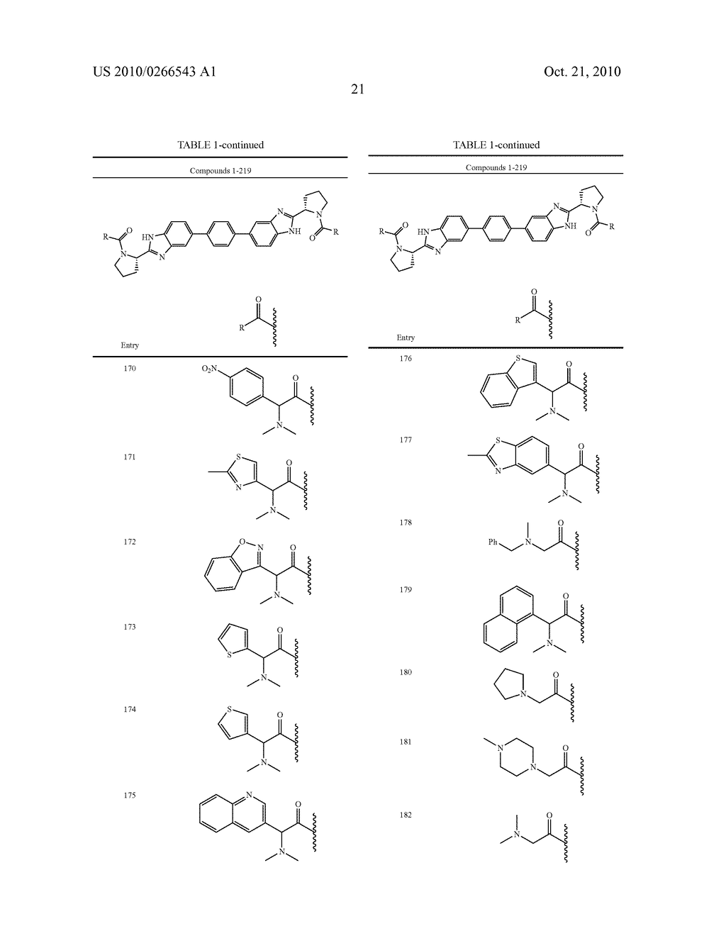 LINKED DIBENZIMIDAZOLE ANTIVIRALS - diagram, schematic, and image 22