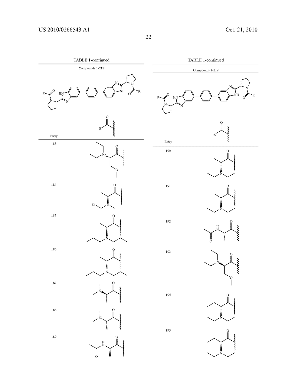 LINKED DIBENZIMIDAZOLE ANTIVIRALS - diagram, schematic, and image 23
