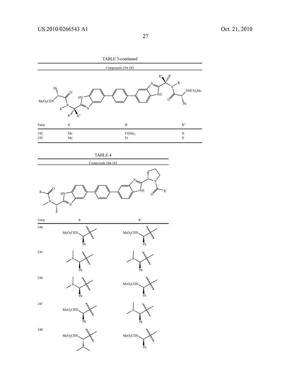LINKED DIBENZIMIDAZOLE ANTIVIRALS - diagram, schematic, and image 28