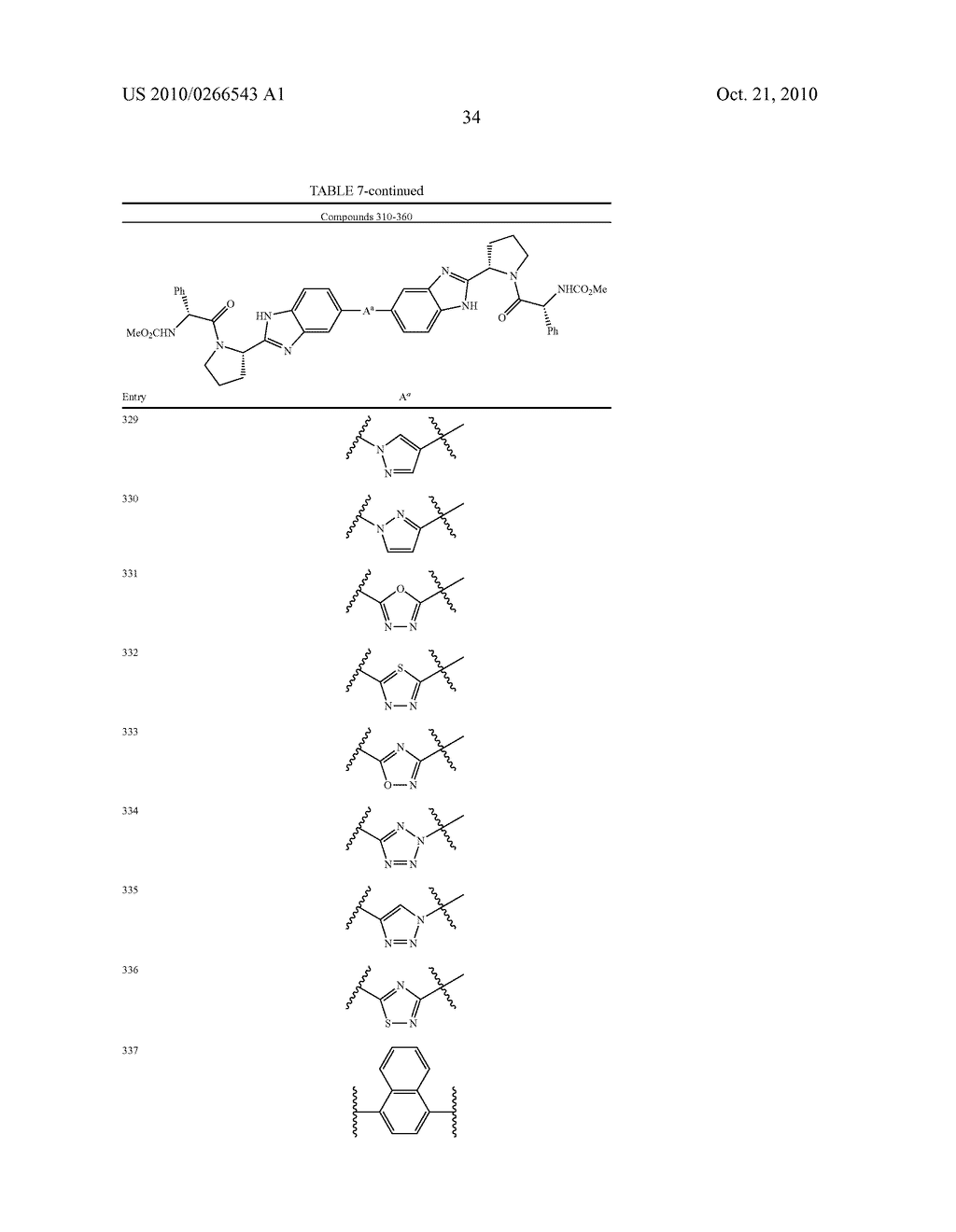 LINKED DIBENZIMIDAZOLE ANTIVIRALS - diagram, schematic, and image 35