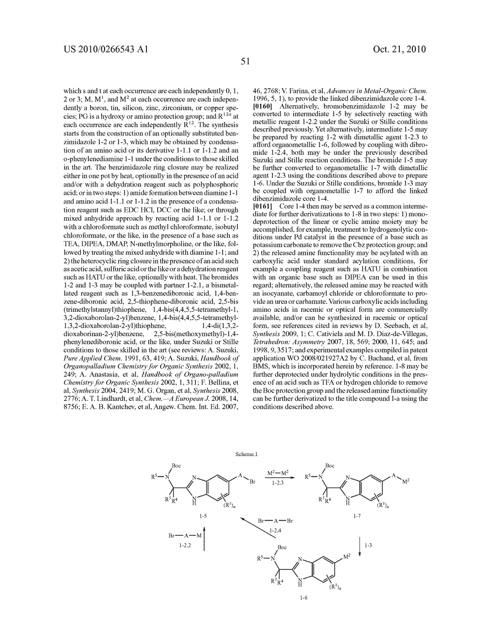 LINKED DIBENZIMIDAZOLE ANTIVIRALS - diagram, schematic, and image 52