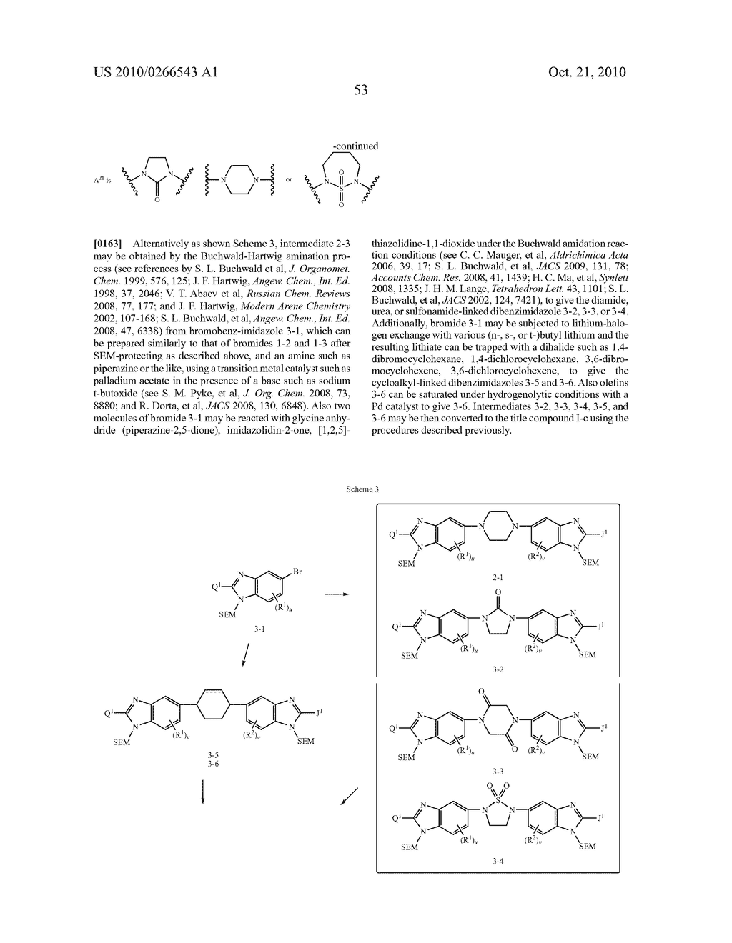 LINKED DIBENZIMIDAZOLE ANTIVIRALS - diagram, schematic, and image 54