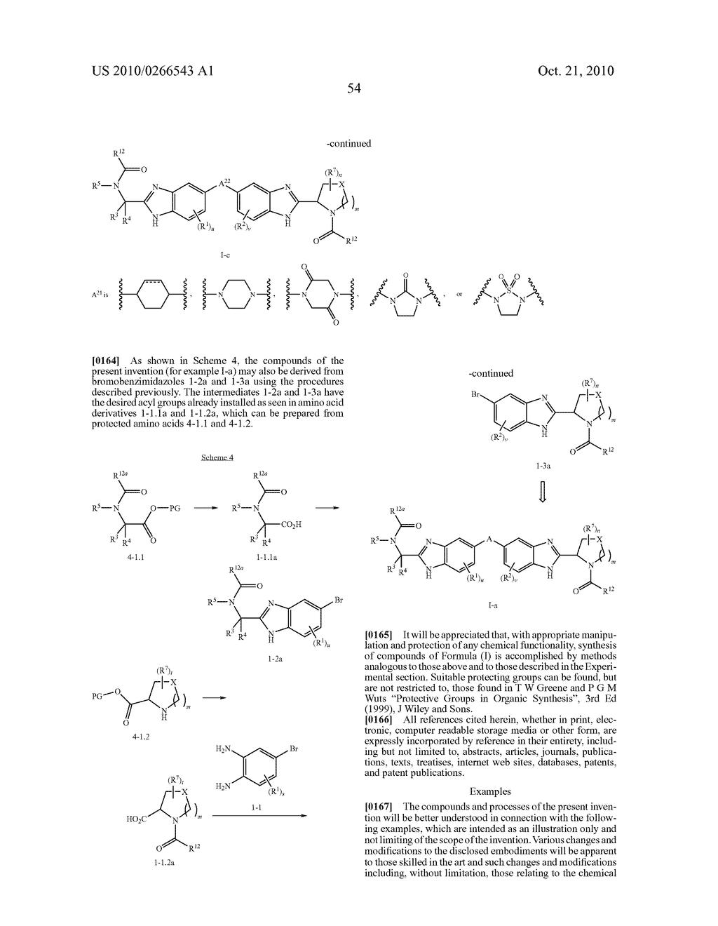 LINKED DIBENZIMIDAZOLE ANTIVIRALS - diagram, schematic, and image 55