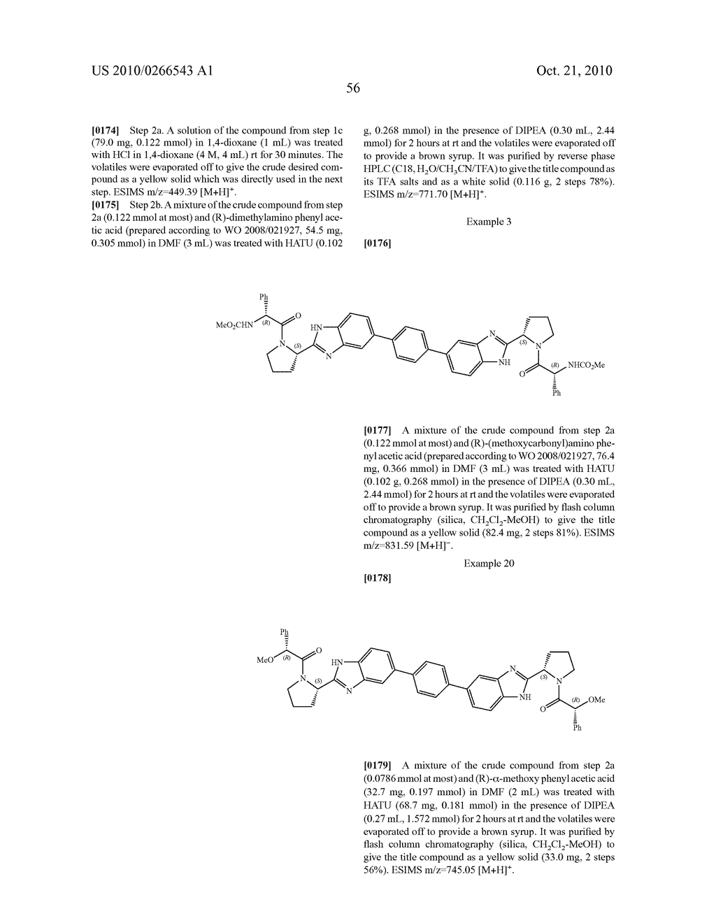 LINKED DIBENZIMIDAZOLE ANTIVIRALS - diagram, schematic, and image 57