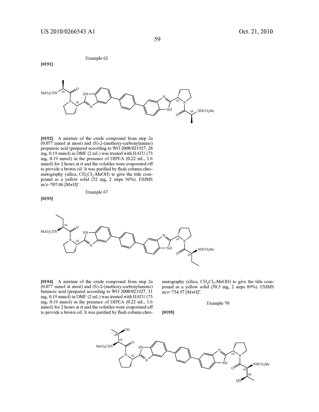 LINKED DIBENZIMIDAZOLE ANTIVIRALS - diagram, schematic, and image 60