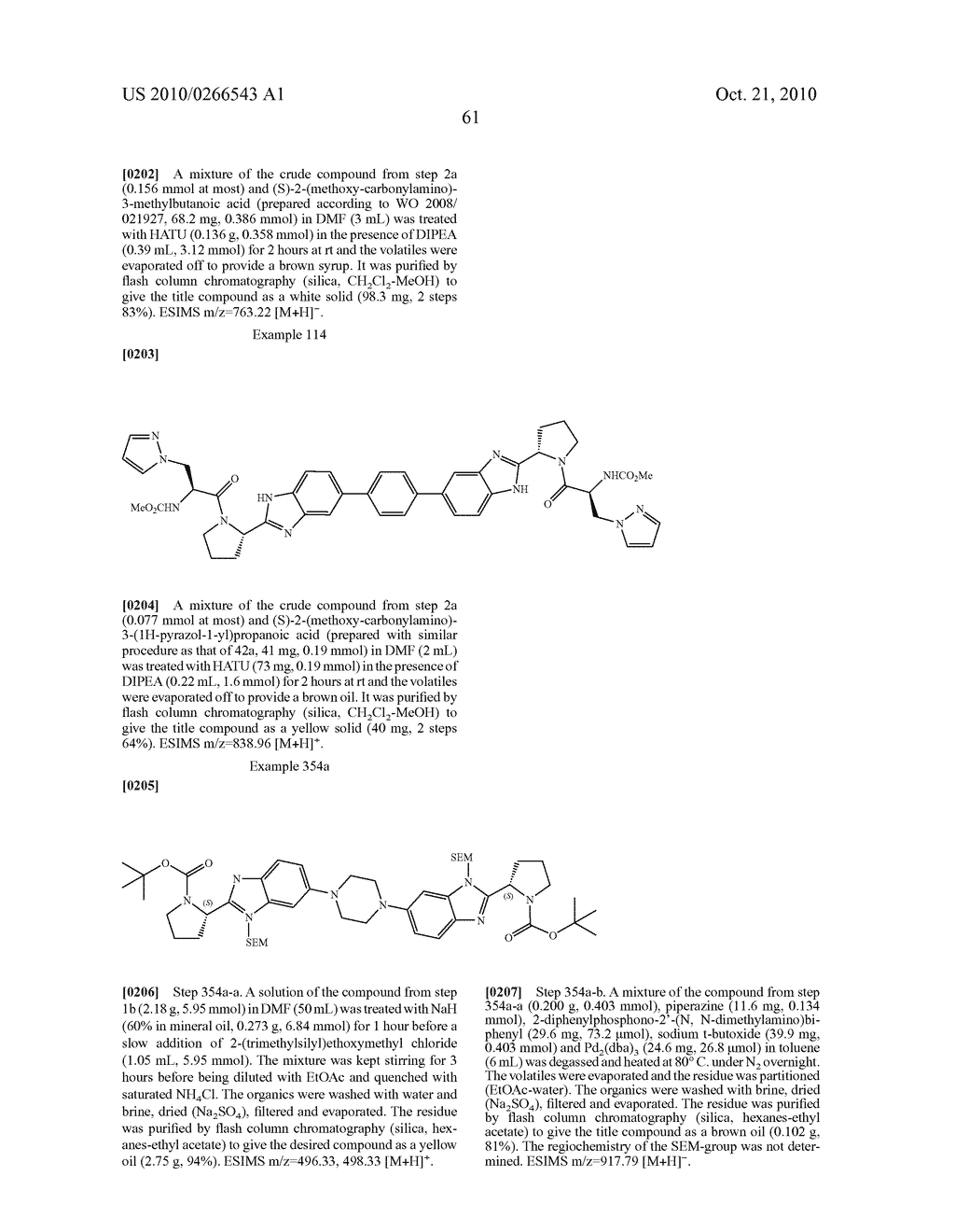 LINKED DIBENZIMIDAZOLE ANTIVIRALS - diagram, schematic, and image 62